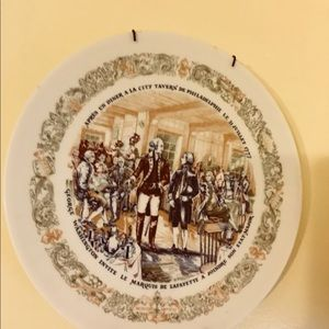 Revolutionary war plate.collection